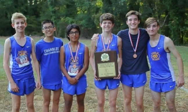 2019 DCSD JV Cross Country Champions - Chamblee Bulldogs