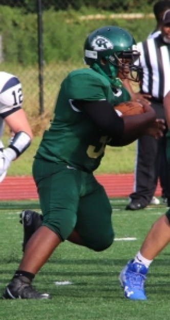 Cross Keys running back Roy Huff scored three touchdowns to lead the Indians to their first win since 2016. (File photo by Mark Brock)