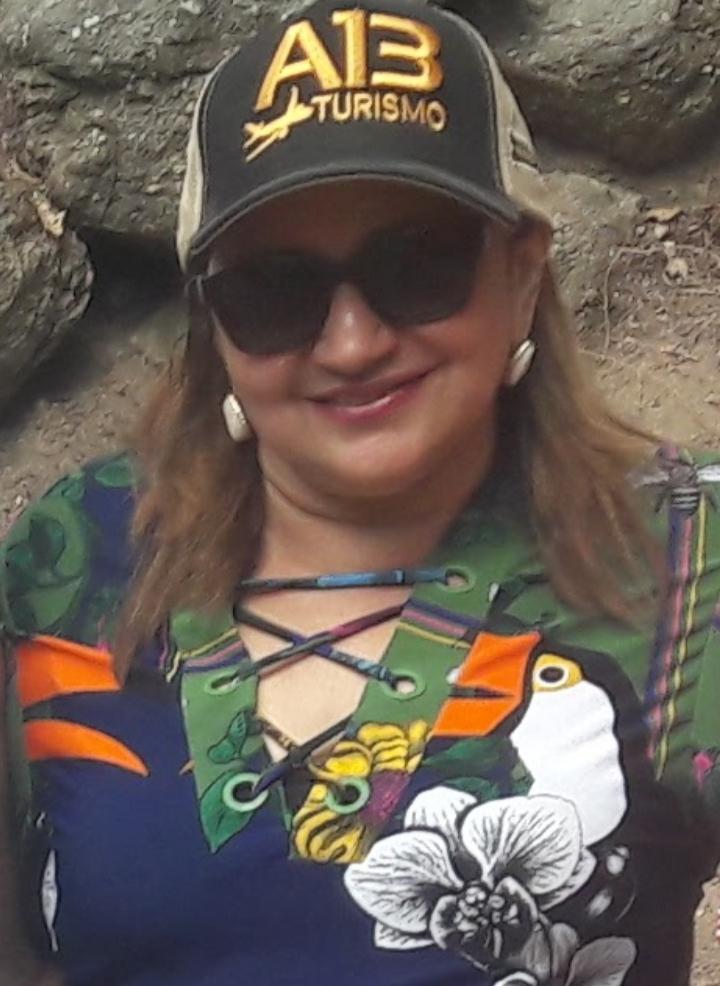 Gilene Cândido, prefeita de Borborema (Fotos Marcos Lima)