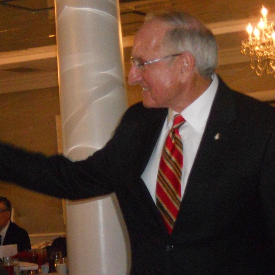 Former Georgia coach Vince Dooley
