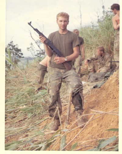 John Paulson during his service in Vietnam.