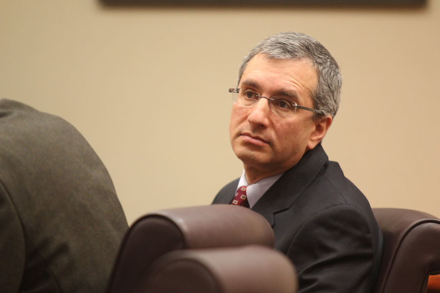 Hemy Neuman at a motions hearing on Jan. 4.