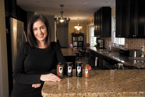 Emily Myers ventured into the jam-making business in 2008 after her husband lost his job in the finance industry.  Myers, a Dunwoody resident with two children, has expanded her product line to include sauces and relishes. Her company, Emily G's, has shelf space in 180 stores nationwide.