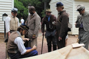 Civil War re-enactors will be on hand during the family-friendly event.