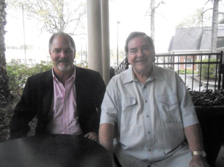 Robert Green, left, and  Norb Leahy of Save Dunwoody.
