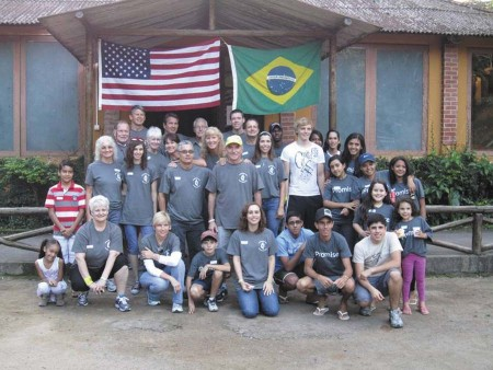 A group from Dunwoody United Methodist Church has traveled to Brazil for a mission trip each summer since 2001 to build a summer camp for children.