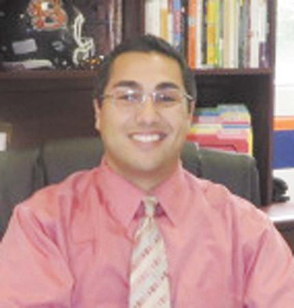 North Springs High School principal Dr. Eddie Ruiz