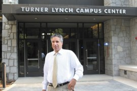 The Turner Lynch Campus Center opened Aug. 9 at Oglethorpe University. President Lawrence Schall says the center serves as a gathering spot on campus.