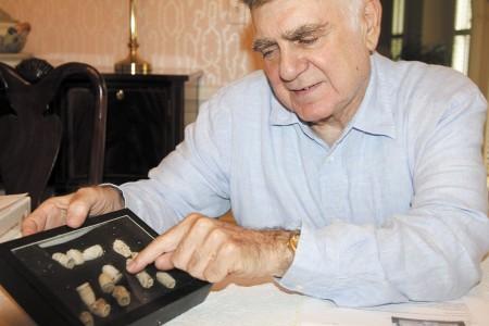 Lee Weinstein, commander of Atlanta World War II Roundtable.