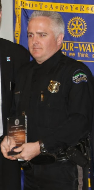 Detective Jeff Inman, Police Officer of the Year