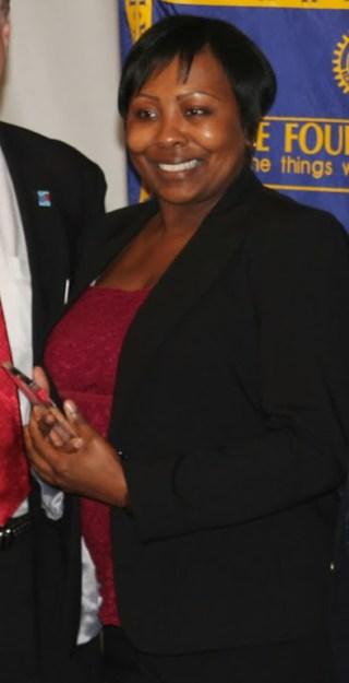 Police Department Civilian Employee of the Year Erica Adams