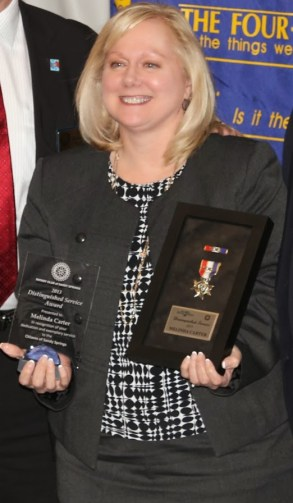 Fire Department Distinguished Service of the Year Recipient Melinda Carter