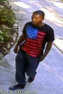 Suspect in Spad Avenue burglary.