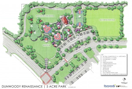 Updated Concept plan Visual for ProjRen 5 acre Park