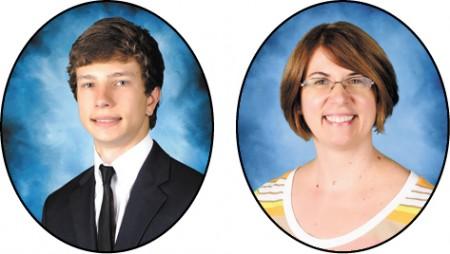 Pace Academy Kal Golde, STAR student Elizabeth Kann, STAR teacher