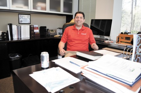 Dunwoody City Manager Warren Hutmacher resigned his post on March 25 to take a similar position with the city of Johns Creek. He begins his new job on April 28.