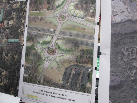 GDOT plans two roundabouts on Riverside Drive, which they say are a safety feature that will improve traffic flow. Nearby residents are not sure that will be the case.