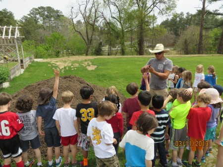 Students from The Galloway School, Holy Innocents' Episcopal and Morris Brandon Elementary have visitied Farm Chastain.