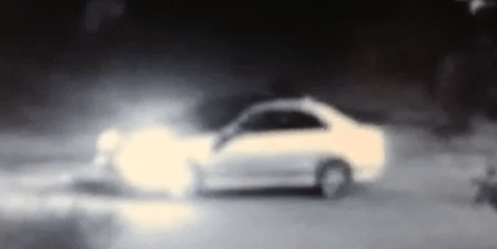 Investigators obtained this image of a vehicle they believe was used in the shooting and are currently working to enhance this photo.