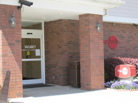 The Hub is located on Barfield Road in Sandy Springs.