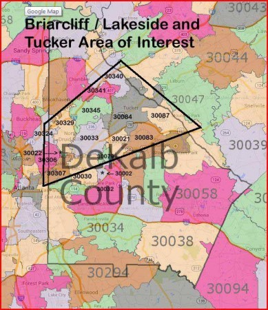 """This """"area of interest"""" map shows the overlapping boundaries of the three proposed cities."""