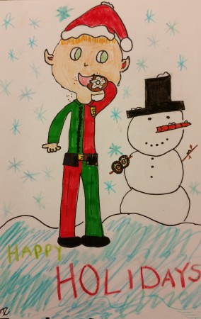 2014 Holiday Card 2nd Place Winner