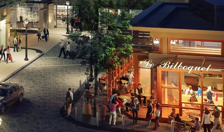 French bistro Le Bilboquet is expected to open Nov. 19 at the Buckhead Atlanta development.