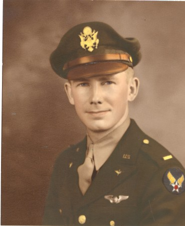 """Farish C. """"Hap"""" Chandler Jr., a retired Lt. Colonel, served in WWII, Korea and Vietnam. He flew 35 missions in WWII and 50 in Korea."""