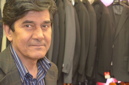 Habib Mohebi, owner of Phipps Tailoring in Brookhaven, opened his store in 1991.