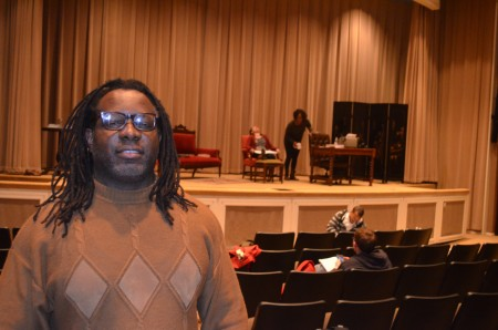 """Addae Moon, director of theater at the Atlanta History Center, takes a new look at """"Gone With The Wind"""" through a short  play he wrote and directs, """"Tomorrow is Another Day."""""""