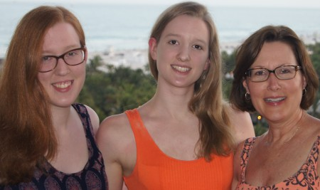 Left to right: Rebecca, Kathleen and Kay Stueve