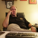 Steve Rose in his office at the Sandy Springs Police Department.