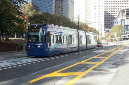 Photo of the Atlanta Streetcar from http://streetcar.atlantaga.gov/