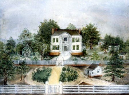 """Bellwood Plantation,"" on special display for the ""Four for the Fortieth"" exhibit."