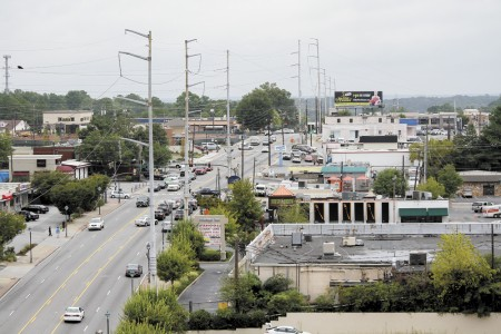 Mixed-use development is slated for the east side of the 6000 block of Roswell Road.