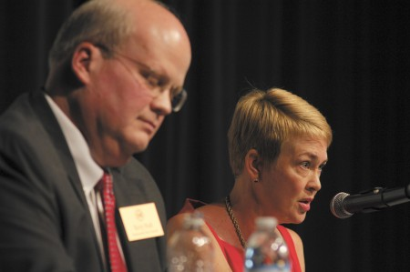 Dunwoody High School Auditorium; Sunday October 11, 2015 4:00pm. Dunwoody Candidate Forum. First Debate for City Council District 1 is Terry Nall, and Becky Springer. Second debate for Mayor is Steve Chipka, Mike Davis, Chris Grivakis, and Denis Shortal.