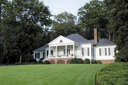 Historic Brookhaven properties, like this one built by Atlanta architect Philip T. Shutze, could be featured in a book.