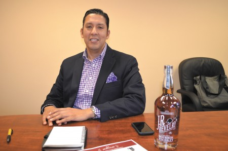 Rick Tapia created his own brand of bourbon, J.R. Revelry.