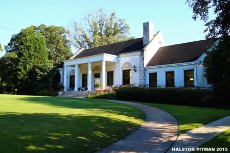 The club house at Bobby Jones Golf Course (Courtesy The Georgia Trust)