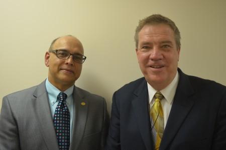 Drs. Pramod Sinha and Randy Kluender