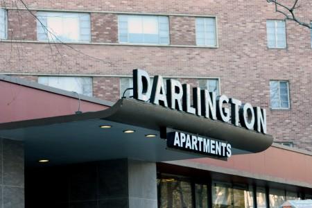 Atlanta police say they recorded 438 calls to The Darlington apartments at 2025 Peachtree Road between June 1 and Dec. 17. Photo by Ellen Eldridge
