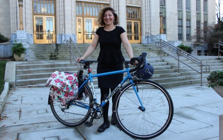 Becky Katz, Atlanta's first chief bicycle officer. (Photo Dyana Bagby)