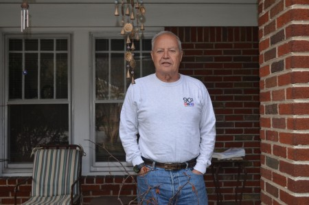 Frank McCord has lived in Peachtree Hills for 50 years. (Photo Joe Earle)