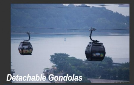 "An image of gondolas, a form of public transit, as presented in January 2016 by consultants in Sandy Springs' ""Next Ten"" planning process."