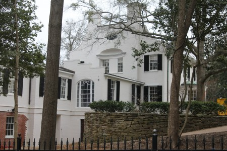 Schutze designed the 1936 Thornton House at 205 West Paces Ferry Road in Buckhead. (Photo John Ruch)