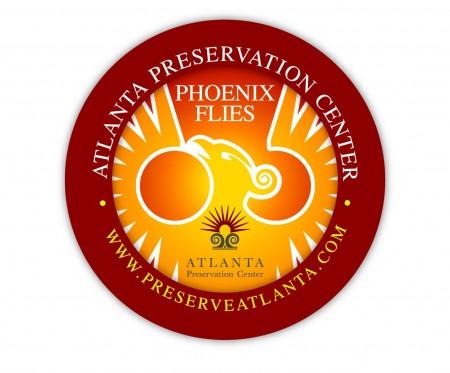Final-Phoenix Flies 3-inch button(1)