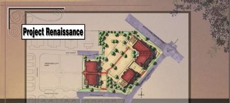 Site plan for Project Renaissance.