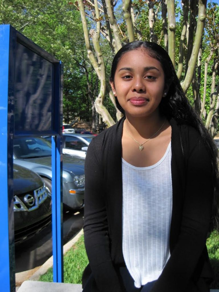 Volunteer Carmen Morales, 15, started with Los Ninos Primero as a 3-year-old preschooler. The Riverwood International Charter School student plans a future in medicine, education or criminal justice.