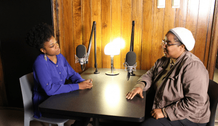StoryCorps preserves oral histories by recording conversations. The Atlanta History Center has a special booth to capture stories from around the metro area. (Special)