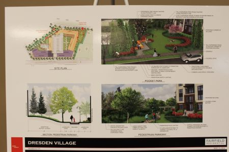 Other plans for Dresden Village include a pocket park and a pedestrian path.